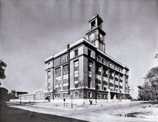 The Deagan Building, c. 1940's (date unknown), courtesy the Century Mallet Museum