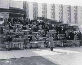Deagan marimbas at the Century of Progress Expo