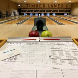 image of timber lanes bowling alley