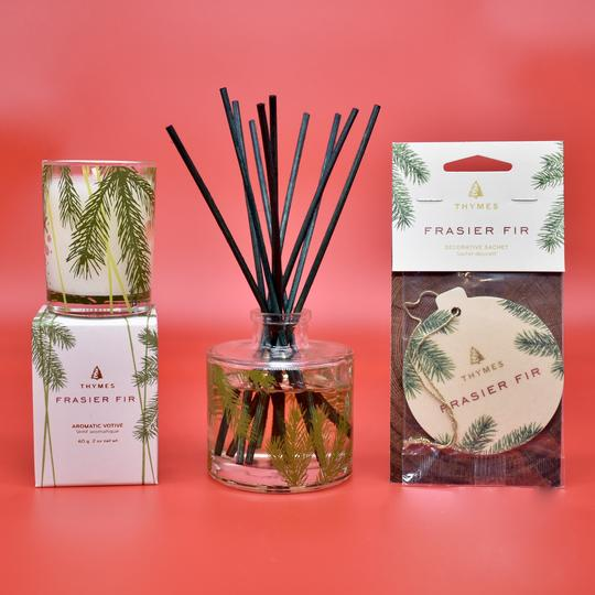 A Frazier Fir Home Fragrances gift set from Hazel