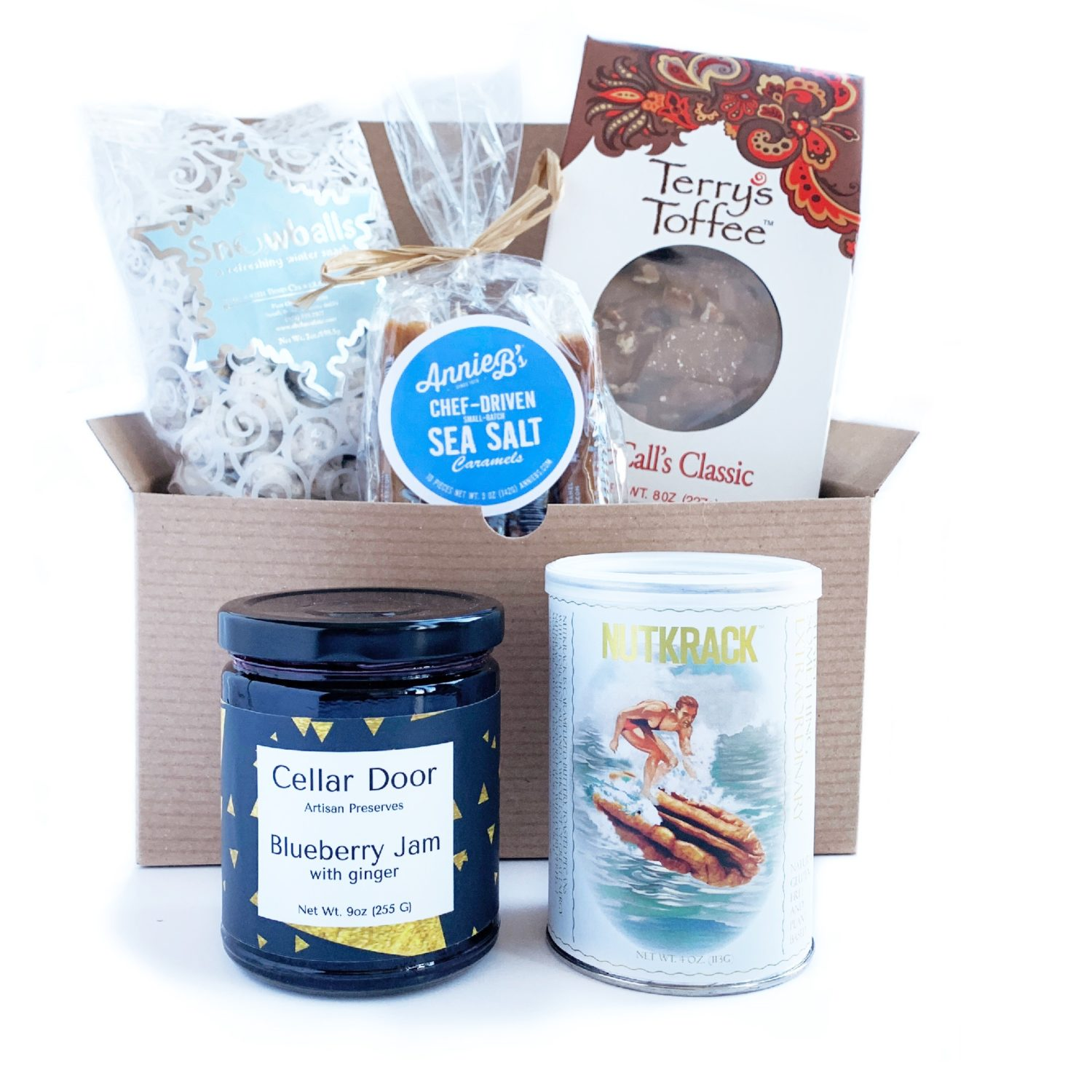 A midwest treats gift box from Neighborly