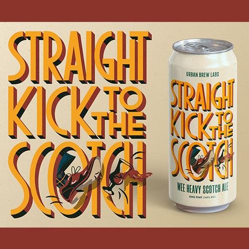 Urban Brew Labs Straight Kick to the Scotch