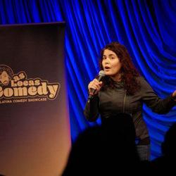 Chicago comic Janice Rodriguez