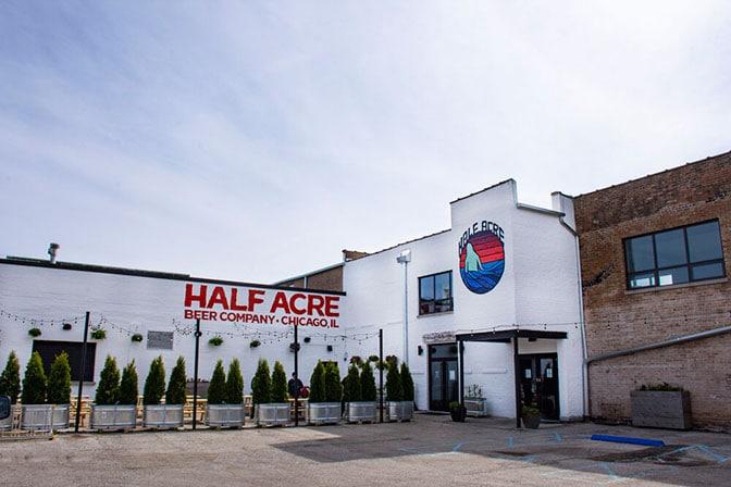 Half Acre's Balmoral patio