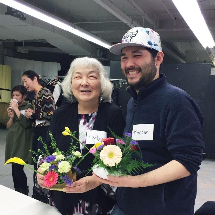 Japanese American Service Committee (JASC) ikebana workshop