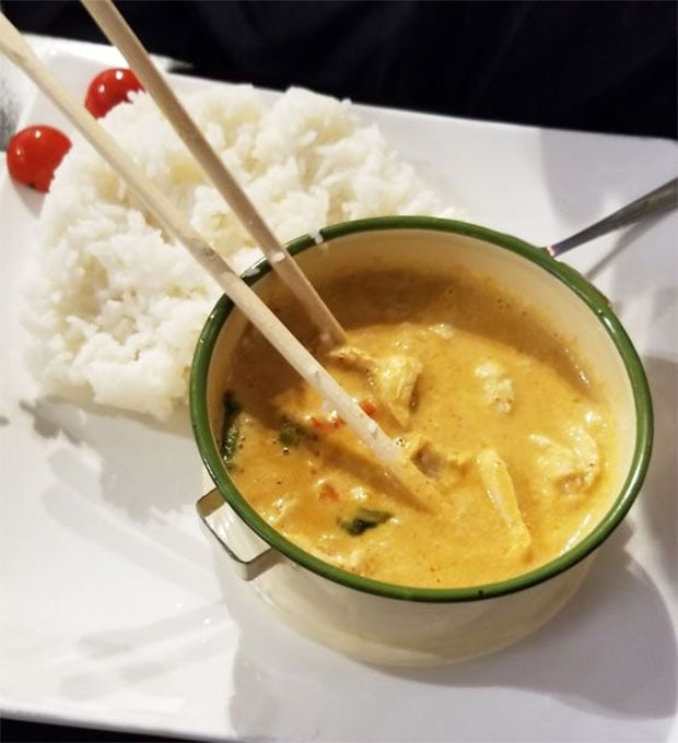 Curry from MedeE Cafe