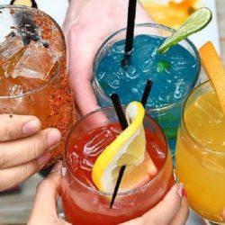 Drinks at Rojo Gusano