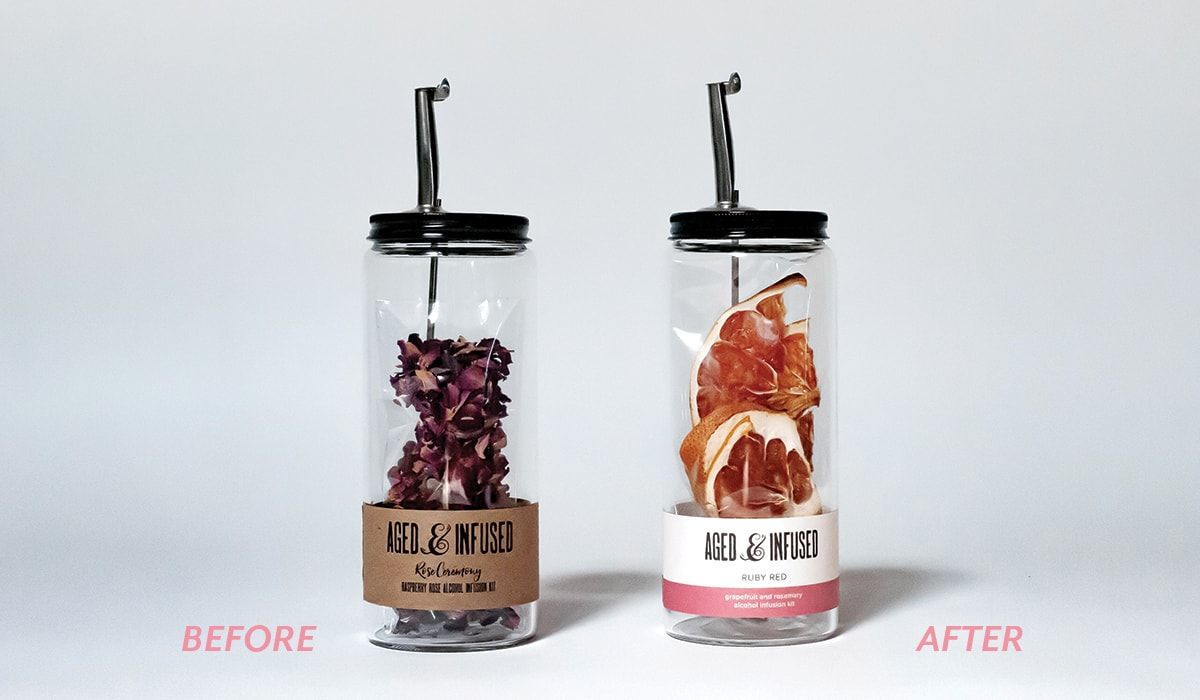 Aged & Infused branding update