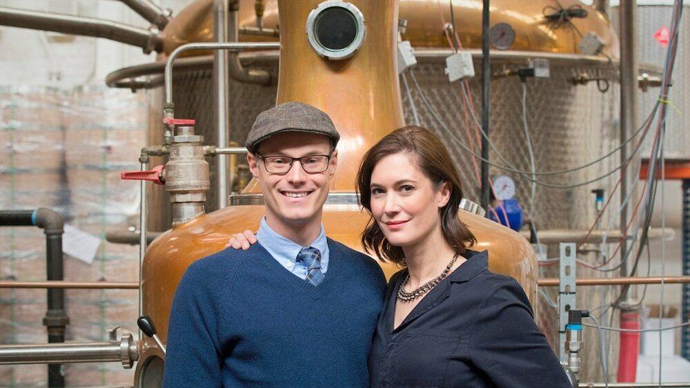 KOVAL Distillery co-founders Dr. Robert Hart and Dr. Sonat Birnecker Hart